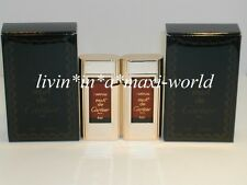 VINTAGE MUST DE CARTIER PERFUME MINI BOTTLE CLASSIC 80s ORIGINAL X2 NOS NEW NIB