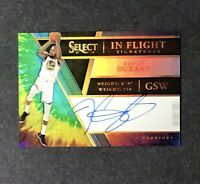2017-18 Panini Select Tie-Dye Prizm KEVIN DURANT AUTO Basketball Card #d / 25