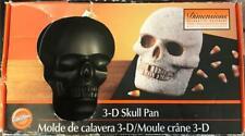 Wilton Dimensions Decorative Bakeware 3-D Skull Pan In Original Box