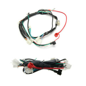 Electric Start Wiring Harness Connector for Motorcycle Rectifier Starter Motor
