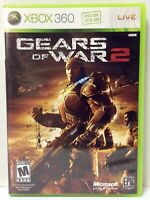 GEARS of WAR 2 Video Game (Xbox 360) Box w/Instr. Booklet ONLY - No Game Disc