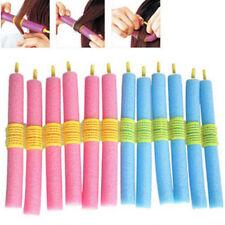 KF_ HK- 12x Women Hair Sponge Curlers Roller Heatless DIY Salon Hairdressing T