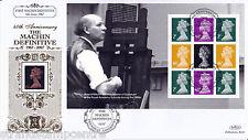 2007 Arnold Machin Prestige Stamp Book - Benham Gold (500) Official's