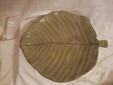 Raymond Waites Palm Serving Platter Leaf Plate Amazon Tropical Hawaii Dish Tray