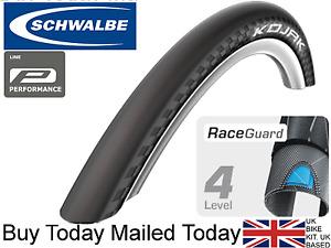 Schwalbe Kojak 26 x 2.0 1.35 MTB Mountain Bike Slick Road Tyre RaceGuard Protect
