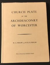 Vtg 1967 Silver Church Plate of the Archdeaconry of Worcester by Poplow Catalog