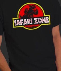 Jurassic Park Dinosaur World Mash-Up Pokemon Safari Zone Kangaskhan Shirt