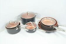 See Notes Gotham Steel Hard Anodized Pots Pans 12 Piece Premium Cookware Set