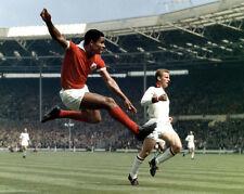 "Eusebio ""The Black Panther"" - Benfica 8x10 Color Photo"