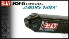 2005-2006 ZX6R 636 Yoshimura RS5 Carbon Fiber Cone Slip On Exhaust Kawasaki