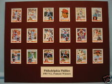 Philadelphia Phillies led by Mike Schmidt are the 1983 N.L. Pennant Winners