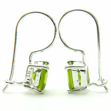 New sterling silver 3.3ct princess cut Cz woman's stud earrings
