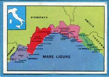 ITALIA PATRIA NOSTRA Panini 1969 Figurina/Sticker n. 41 - LIGURIA -New
