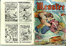 BD petit format MESSIRE Lancelot spéc. HS 6 Mon Journal 1964 Moyen-Age Far-West