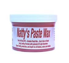 Poorboys Red Natty's Paste Nattys Wax Poorboys Carnauba Paste Wax Free UK P&P