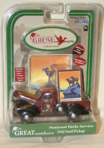 GEARBOX THE GREAT OUTDOORS COLLECTORS SERIES 1942 Ford Pickup US PARK SERVICE