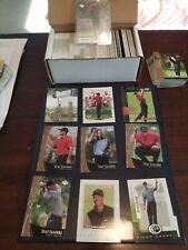 New listing 2001 Upper Deck Golf Master Set Tiger Woods RC