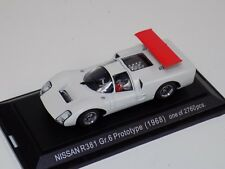 1/43 Ebbro Nissan R381 Groupe 6 Prototype 1968 in White  #493