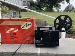 Eumig 624D Super8 and Standard8 Projector