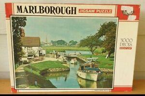 Marlborough Jigsaw Puzzle 3000 Pieces Philmar 'River Cruise' Great Britain RARE