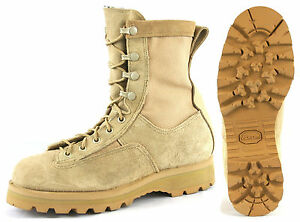 US Military 790 ICB GORETEX COMBAT BOOTS TAN 3.5 Thru 7, 10.5, 15, 15.5, 16 NEW