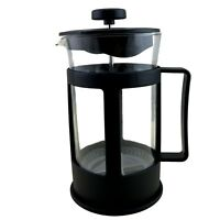 Coffee Plunger Press Tea Coffee Maker French Style W Stainless Filter Glass