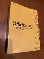 Microsoft Office For Mac 2011 Student Edition Unopened Damanged Box