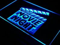 i707-b Movie Night Film Cinema Bar Beer Neon Light Sign