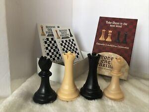 Chancellor & Archbishop Combination Modern Chess Variant Kit Frank Camaratta Jr