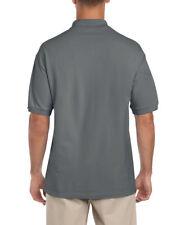 Gildan Ultra Cotton Pique Polo Charcoal All Sizes Wholesale 3800 L