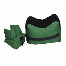 Shooting Range Sand Bag Set Rifle Gun Bench Rest Stand Front Rear Bag Convenient