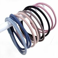 20pcs Mixed Color 2 Layer Hair Ties Rope Elastic Rubber Bands Ponytail Holder