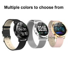 Waterproof Bluetooth Smart WatchTemperedglass For iphone IOS AndroidSamsung