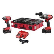 Milwaukee 2897-22PO M18 FUEL 2-Tool Combo Kit Hammer Drill/Impact Driver 24800
