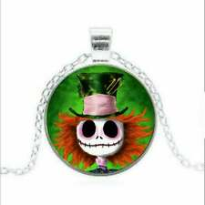 New The Nightmare Before Christmas Necklace  Jack Skellington   Mad Hatter