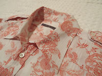 """TED BAKER Mens Shirt 🌍 Size 4 (40"""" CHEST) 🌎 RRP £110+ 🌏 FANTASTICALLY FLORAL"""
