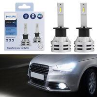 For Philips H1 Led Ultinon Essential Car White Headlight Bulbs 6500K 19W 2Pcs