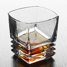 Crystal Glass Cup Multi Pattern Transparent Drinking Mug Wine Whisky Barware Cup