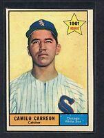 1961 Topps #509 Camilo Carreon EXMT C00001304
