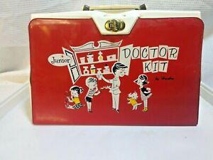 VINTAGE JUNIOR DOCTOR MEDICAL KIT LOT HASBRO