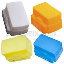 Universal Flash Bounce White Dome Diffuser light box for most flashes - Silicone