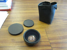 Super Wide Angle Lens with Macro Conversion Lens 0.45x HD