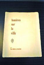 Lumières sur la ville - René Héron de Villefosse
