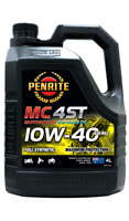 Penrite MC-4ST Motocross 10W40 Fully Synthetic Motorcycle 4 Stroke Oil