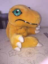 """Vintage Digimon Soft Toy 2000 By Golden Bear 12"""""""