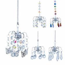 18inch Chandelier Crystal Prisms Wind Chimes Hanging Sun Catcher Window Decor