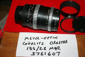 Meyer-Optik Görlitz Orestor 2.8/135mm M42 Mount Manual Focus Lens - Minor Faults