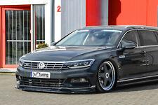 Alerón espada Front alerón cuplippe de ABS para VW Passat 3g b8 r-line con Abe