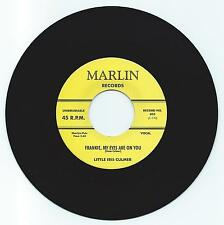 DOO WOP 45 LITTLE IRIS CULMER FRANKIE MY EYES ARE ON YOU ON MARLIN VG+ REPRO