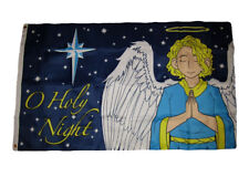 3x5 Merry Christmas O Holy Night Angel Holiday Premium Flag 3'x5' Banner Grommet